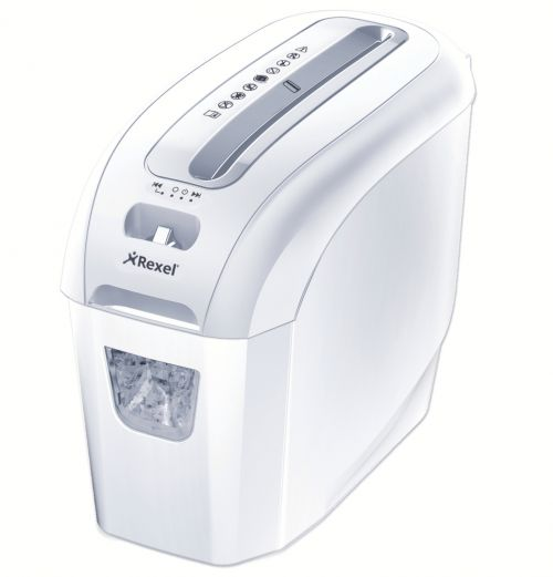 Rexel ProSecure Shredder White, 5 sheet capacity, 7.5L Bin, P4, White