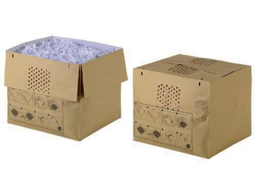 Rexel Expandable Shredder Waste Sacks Auto+ 500X/M (Pack 50)