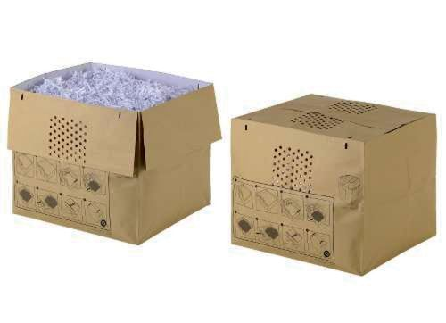 Rexel Expandable Shredder Waste Sacks Auto+ 750X/M (Pack 50)
