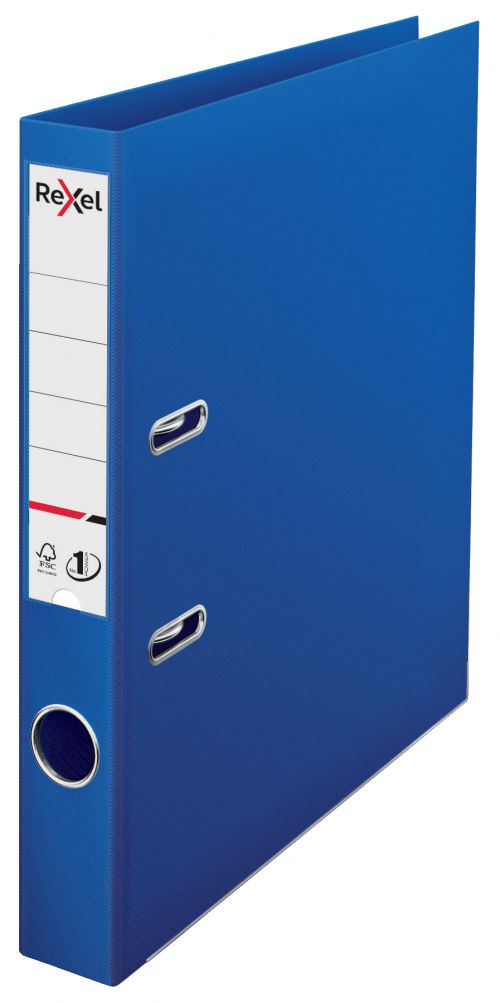 Rexel A4 Lever Arch File; Blue; 50mm Spine Width; No.1 Power - Outer carton of 10