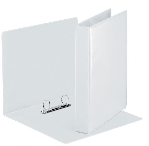Rexel A5 Presentation Binder; White; 25mm 2D-Ring Diameter - Outer carton of 12