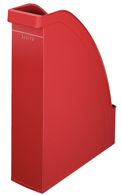 Leitz Plus Magazine File A4 Red - Outer carton of 6