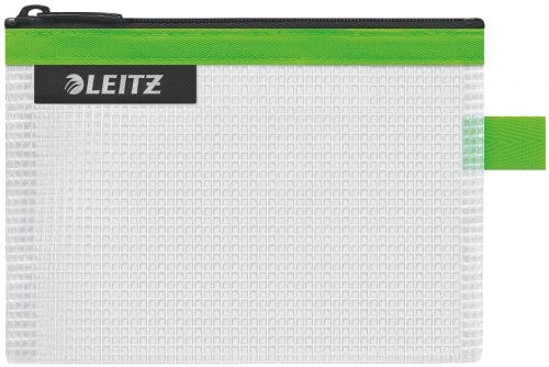 Leitz WOW water resistant Travel Pouch Small Size: 14x10.5 cm. Green - Outer carton of 10