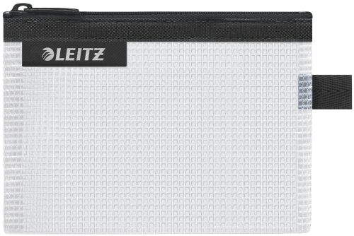 Leitz WOW water resistant Travel Pouch Small Size: 14x10.5 cm. Black - Outer carton of 10