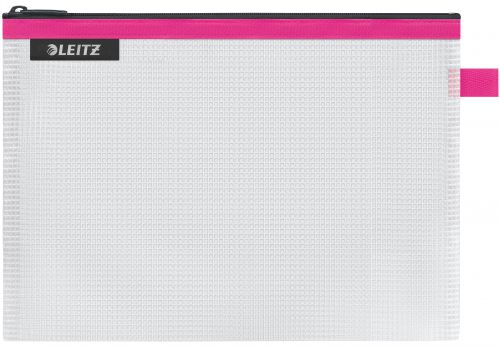 Leitz WOW water resistant Travel Pouch Medium Size: 24x17 cm. Pink - Outer carton of 10
