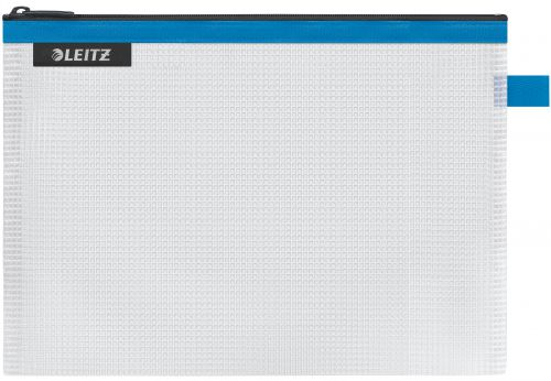 Leitz WOW water resistant Travel Pouch Medium Size: 24x17 cm. Blue - Outer carton of 10