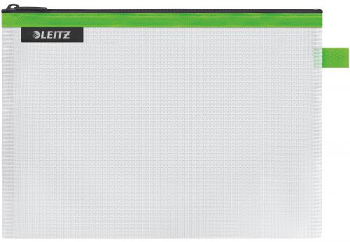 Leitz WOW water resistant Travel Pouch Medium Size: 24x17 cm. Green - Outer carton of 10