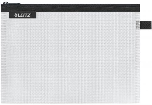 Leitz WOW water resistant Travel Pouch Medium Size: 24x17 cm. Black - Outer carton of 10