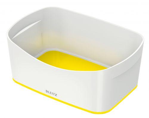 Leitz MyBox Storage Tray WOW White Yellow