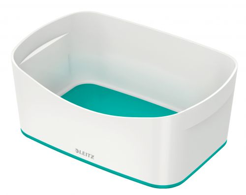 Leitz MyBox Storage Tray WOW White Ice Blue