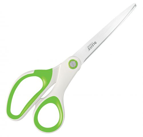 Leitz WOW Titanium Office Scissors. 205 mm. In blister pack. Green