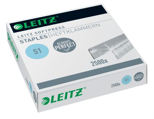 Leitz Softpress Staples. Perfect stapling results for up to 30 sheets (2,500)