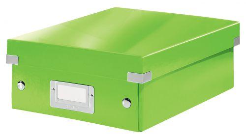 Leitz WOW Click & Store Small Organiser Box, Green.