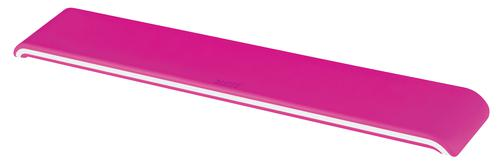 Leitz Ergo WOW Adjustable Keyboard Wrist Rest Pink