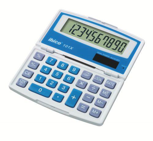 Ibico 101X Pocket Calculator (Blister Pack)