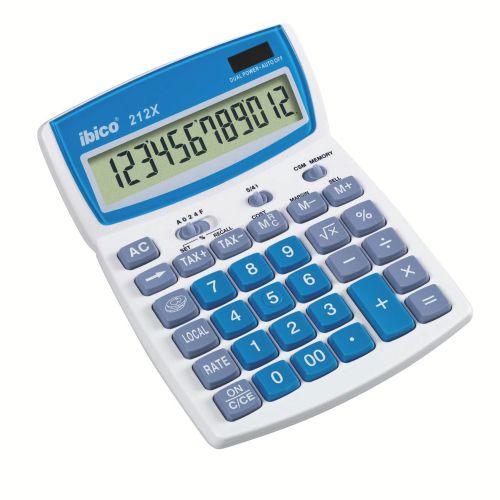 Ibico 212X Desktop Calculator (Blister Pack)