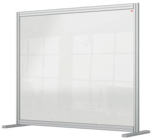Nobo Premium Plus Desk Divider 1200x1000mm Acrylic