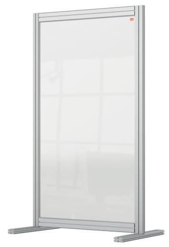 Nobo Premium Plus Desk Divider 600x1000mm Acrylic