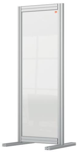 Nobo Premium Plus Desk Divider 400x1000mm Acrylic