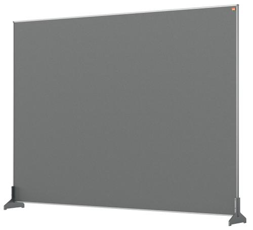 Nobo Impression Pro Desk Divider 1400x1000mm Grey
