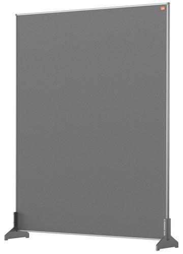 Nobo Impression Pro Desk Divider Screen Felt Surface 800x1000mm Grey