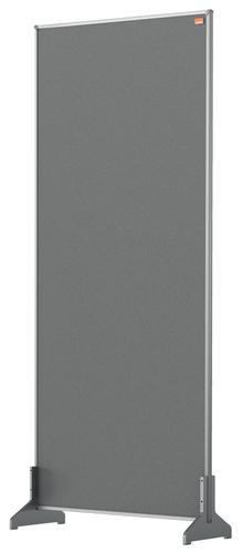 Nobo Impression Pro Desk Divider Screen Felt Surface 400x1000mm Grey