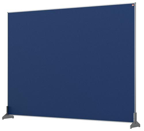 Nobo Impression Pro Desk Divider 1400x1000mm Blue