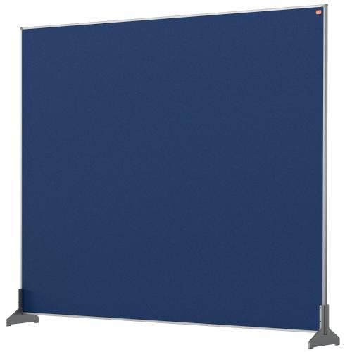Nobo Impression Pro Desk Divider 1200x1000mm Blue