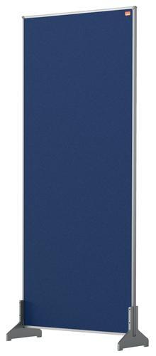 Nobo Impression Pro Desk Divider Screen Felt Surface  400x1000mm Blue