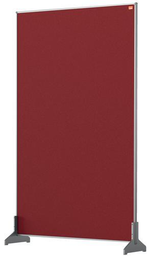 Nobo Impression Pro Desk Divider 600x1000mm Red