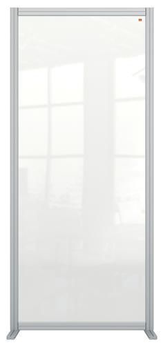 Nobo Acrylic Modular Room Divider 800 x 1800mm Clear KF90383 KF90383