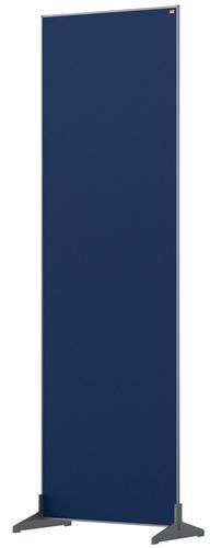 Nobo Impression Pro Free Standing Room Divider Screen Felt Surface 600x1800mm Blue