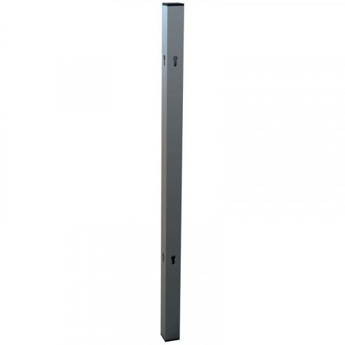 Nobo Premium Plus Clear PVC Protective Divider Screen Leg