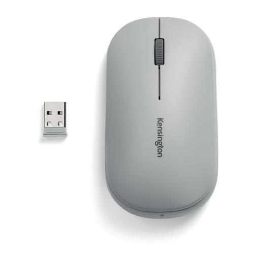 Kensington SureTrack Dual Wireless Mouse Grey