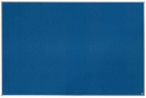 ValueX Blue Felt Noticeboard Aluminium Frame 1800x1200mm