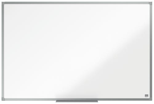 ValueX Non Magnetic Melamine Whiteboard Aluminium Frame 900x600mm