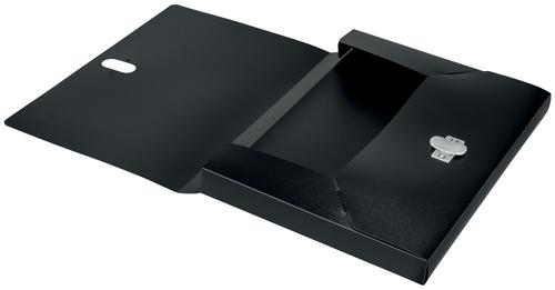 Leitz Box File 100 Percent Recyclable Black 46230095 by ACCO Brands, LZ12749