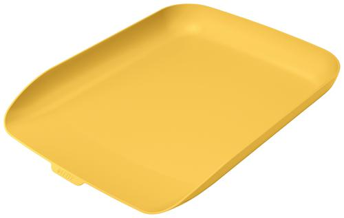 Leitz Cosy Letter Tray A4; Warm Yellow - Outer carton of 6