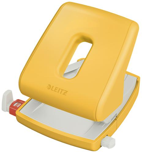 Leitz Cosy Hole Punch 2 hole punch - 30 sheets - Warm Yellow