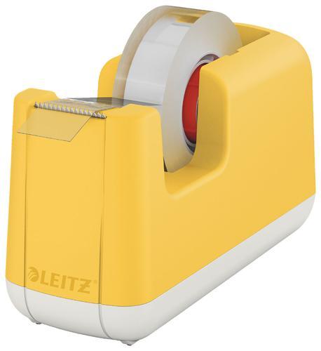 Leitz Cosy Tape Dispenser Warm Yellow