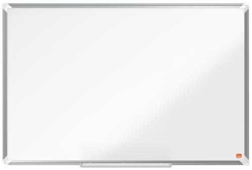 Nobo Premium Plus Magnetic Enamel Whiteboard Aluminium Frame 900x600mm