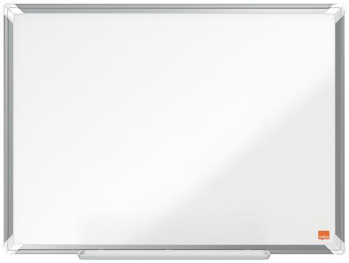 Nobo Premium Plus Magnetic Steel Whiteboard Aluminium Frame 600x450mm