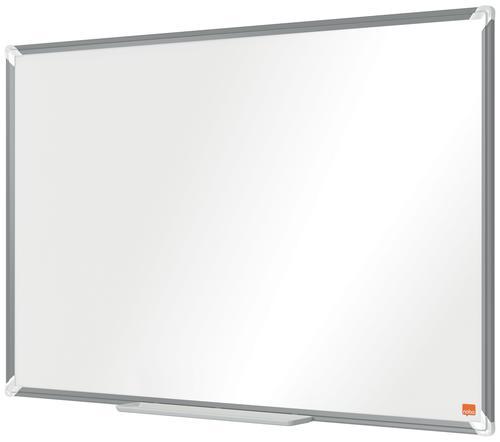 Nobo Premium Plus Magnetic Steel Whiteboard Aluminium Frame 900x600mm