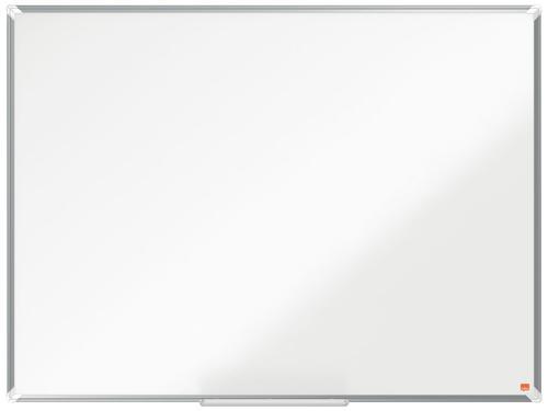 Nobo Premium Plus Steel Magnetic Whiteboard 1200x900mm