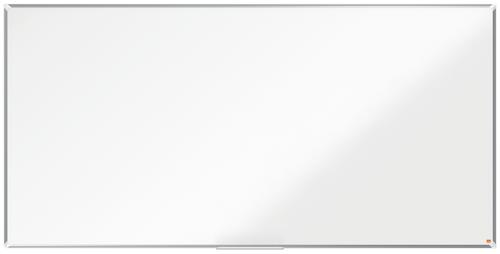 Nobo Premium Plus Magnetic Steel Whiteboard Aluminium Frame 2400x1200mm
