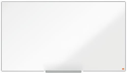 Nobo Impression Pro Widescreen Magnetic Enamel Whiteboard Aluminium Frame 1220x690mm