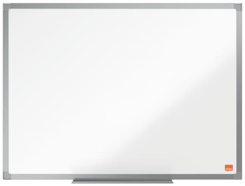Nobo Essence Non Magnetic Melamine Whiteboard Aluminium Frame 600x450mm