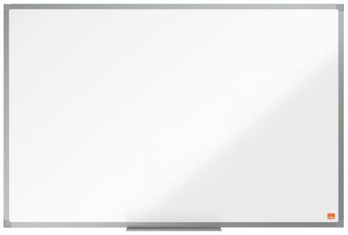 Nobo Essence Non Magnetic Melamine Whiteboard Aluminium Frame 900x600mm
