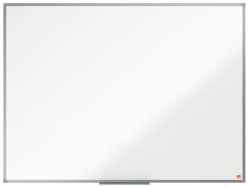 Nobo Essence Non Magnetic Melamine Whiteboard Aluminium Frame 1200x900mm