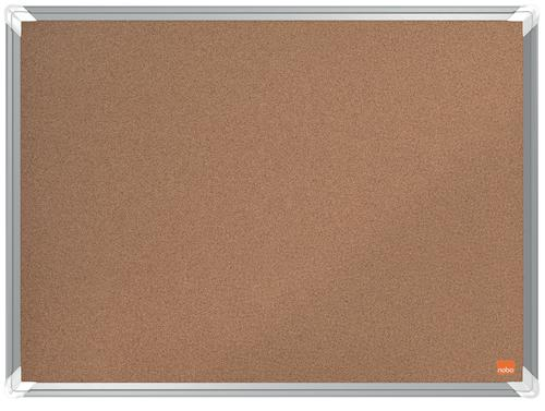 Nobo Premium Plus Cork Notice Board 600x450mm
